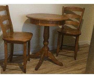 Canadel Solid Birch Bistro/Pub Table