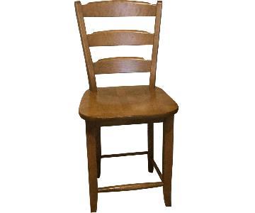 Canadel UDesign Solid Birch Bistro/Pub Chair