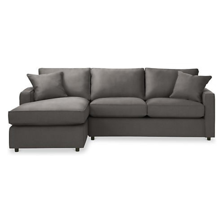 Room u0026 Board York 2 Piece Sectional Sofa ...  sc 1 st  AptDeco : room and board sectional - Sectionals, Sofas & Couches