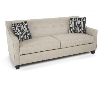 Bob's Colby Queen Sleeper Sofa