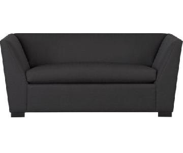 CB2 Julius Slate Twin Sleeper Sofa