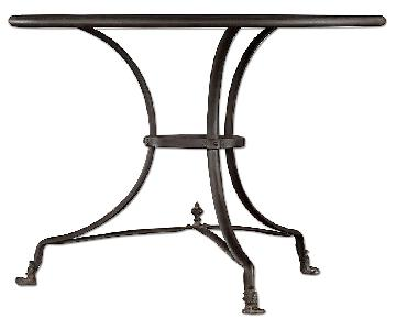 Restoration Hardware French Lion's Foot Brasserie Table