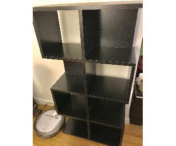 Way Basics 4-Shelf Malibu Bookcase/Storage