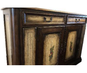Drexel Heritage Italian Wooden Credenza