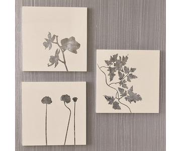 West Elm 3 Piece Lacquer Wall Art