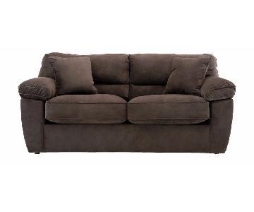 Raymour & Flanigan Rockport Microfiber Full Sleeper Sofa