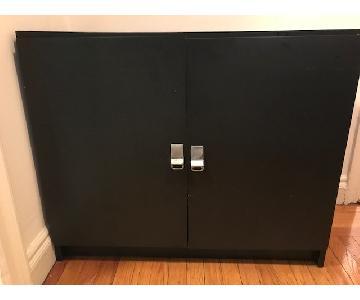 Black Wood Sideboard