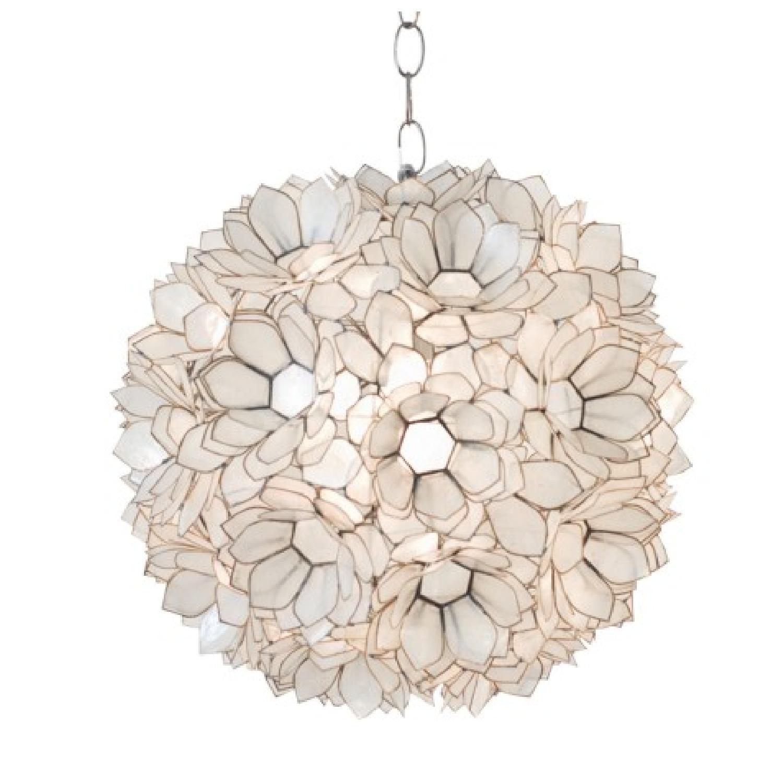 Worlds Away Venus Hanging Capiz Shell Pendant Lamp ... Awesome Design