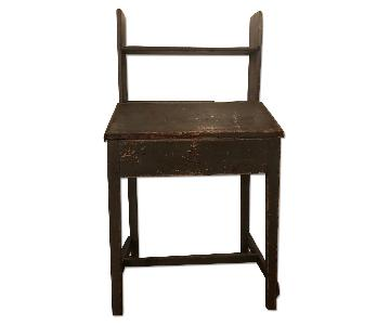Antique French Painted Standing Desk