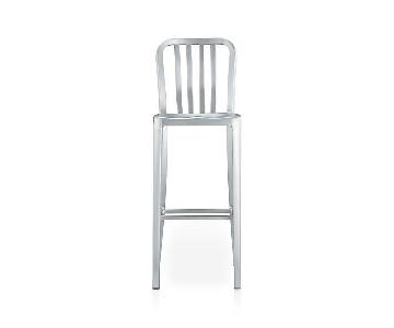 Crate & Barrel Delta Aluminum Bar Stool