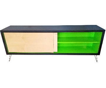 Custom Made Solid Wood Credenza/TV Storage Unit
