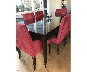 Restoration Hardware Cherry Dining Table
