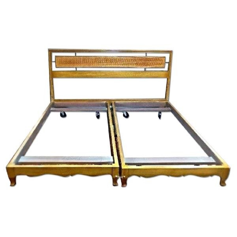 Bethlehem Furniture Mid Century Modern King Size Bed