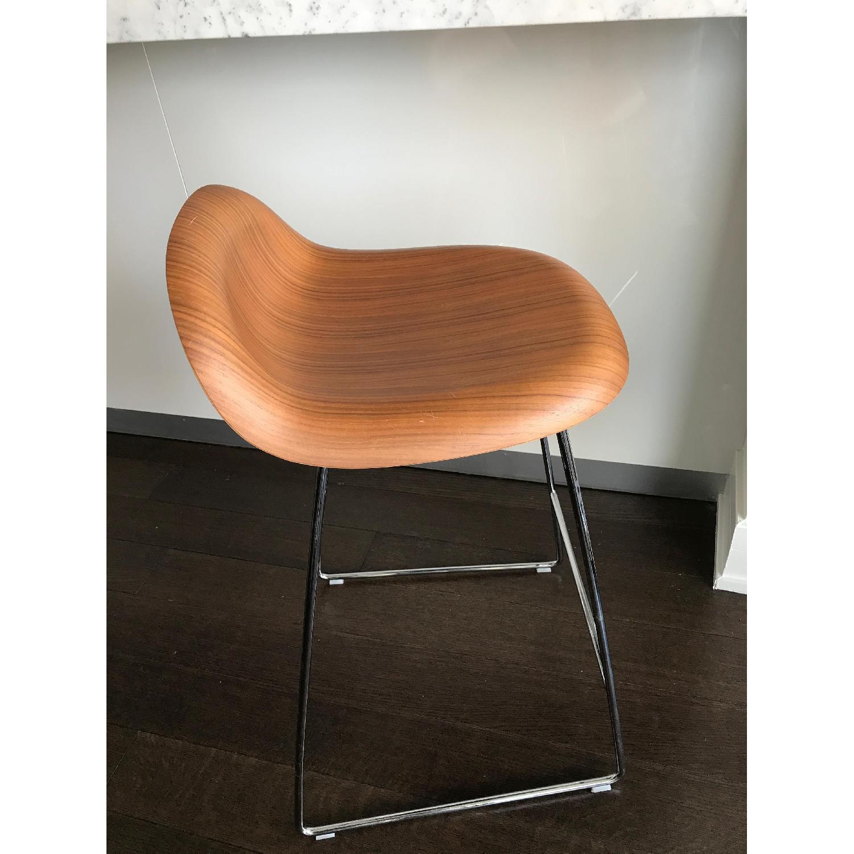Danish Design Store Gubi 3D Wood Counter Stool-2