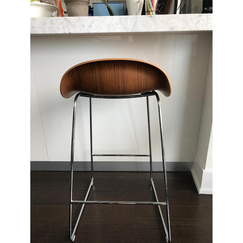 Danish Design Store Gubi 3D Wood Counter Stool-3