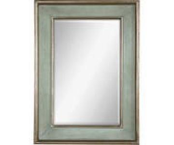 Uttermost Green Frame Mirror