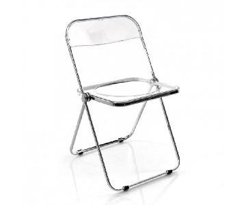 Vintage Giancarlo Piretti Castelli Plia Lucite Chair