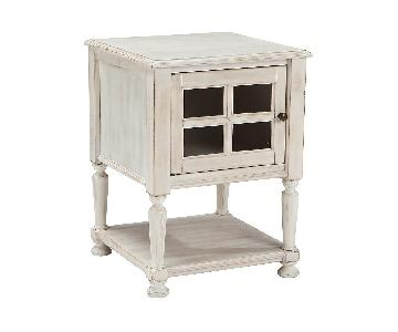 Ashley Mirimyn White Chair Side/End Table