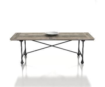 Restoration Hardware Flatiron Rectangular Dining Table