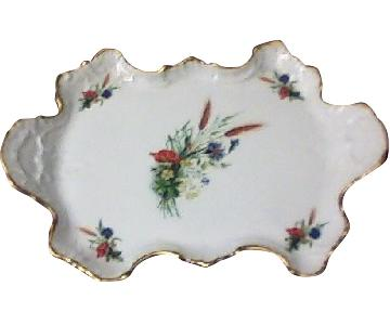 Limoges Chamart Collectible Porcelain Plate