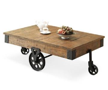 Macy's Copper Hill Reclaimed Pine Coffee Table