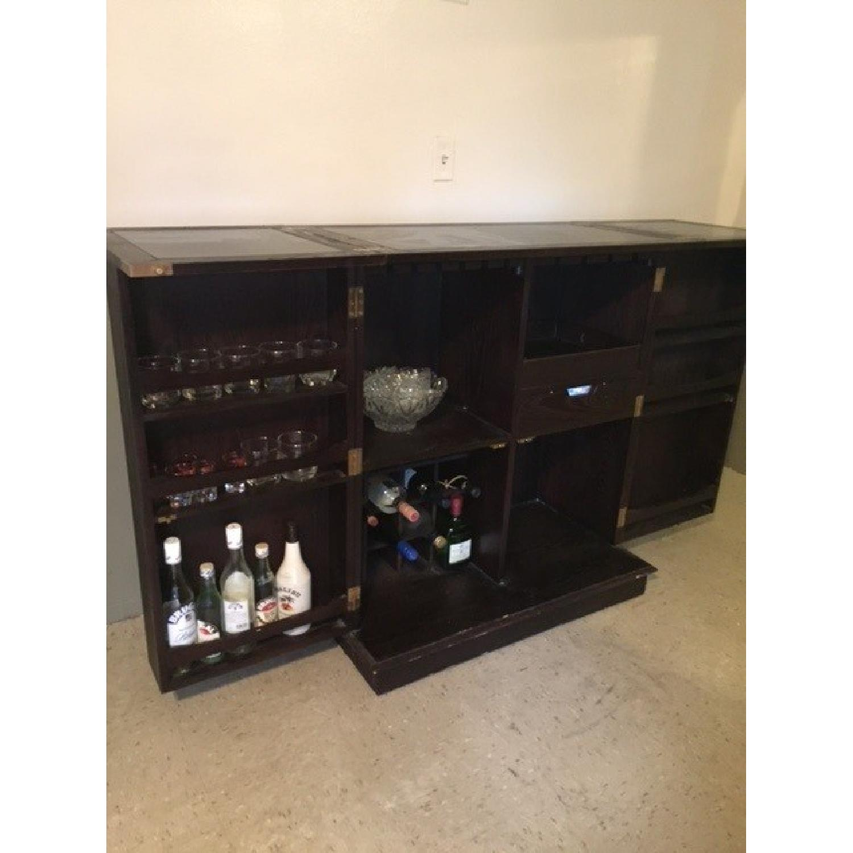 ... Crate U0026 Barrel Steamer Bar Cabinet 3