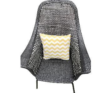 Pottery Barn Indoor/Outdoor Wicker Chair