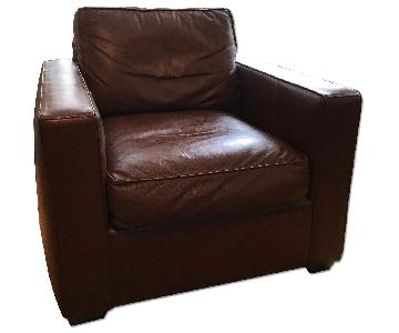 Room & Board Leather Armchair