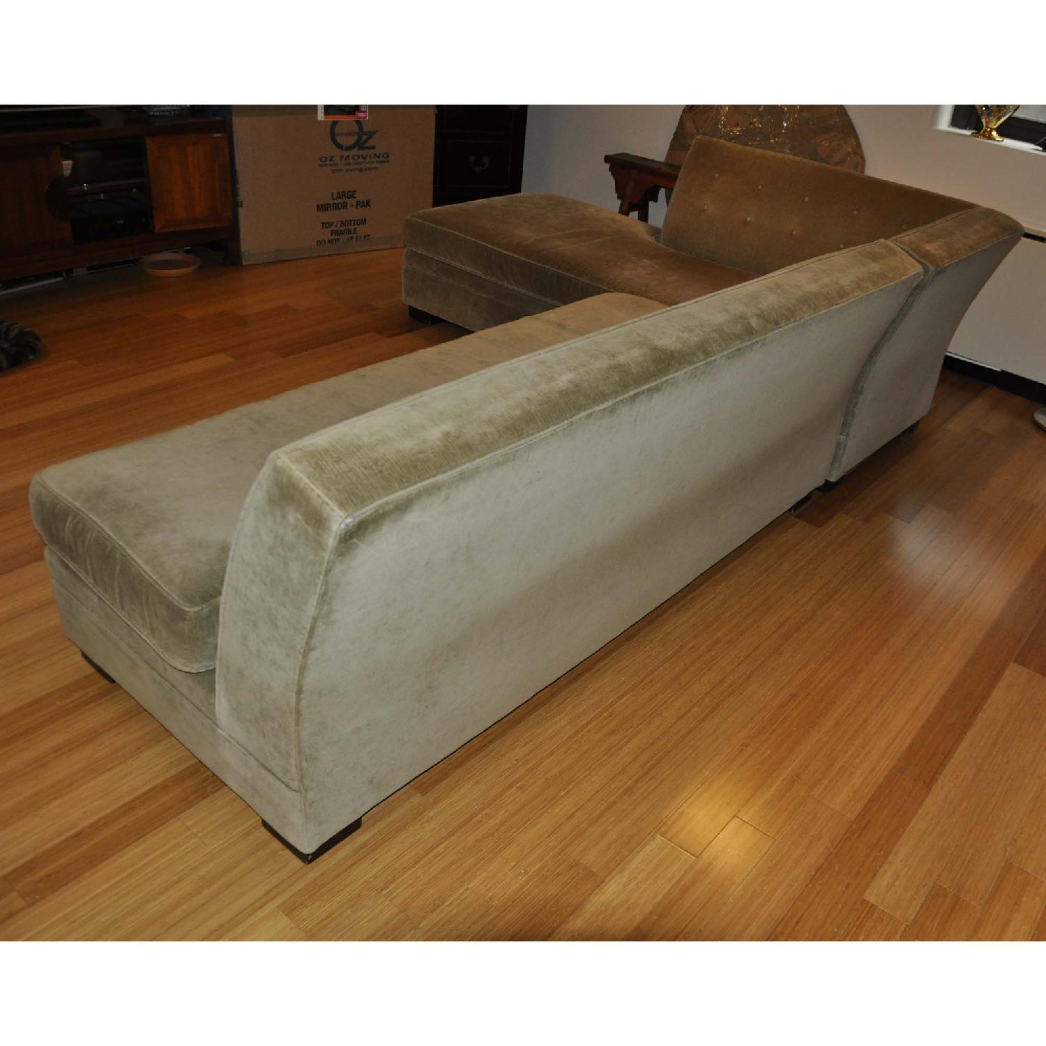Mitchell Gold Bob Williams Left Hand Chaise Sectional AptDeco