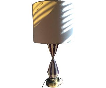 Vintage Circus Style Table Lamp