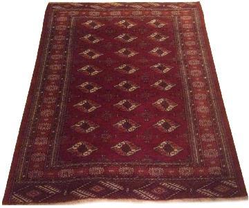 Vintage Wool Kazak Area Rug