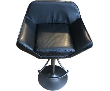 Faux Leather Hydraulic Counter Chair