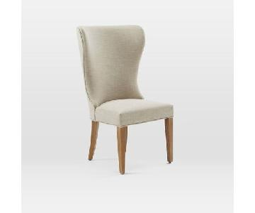 West Elm Wingback Dining Chair