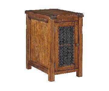 Ashley Furniture Tamonie Medium Brown Side/End Table