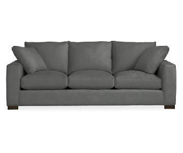 Room & Board Metro Sleeper Sofa in Desmond Charcoal