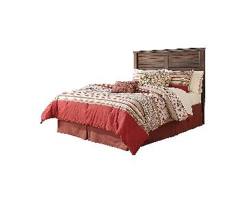 Ashley Furniture Quinden Brown Queen Panel w/ Headboard