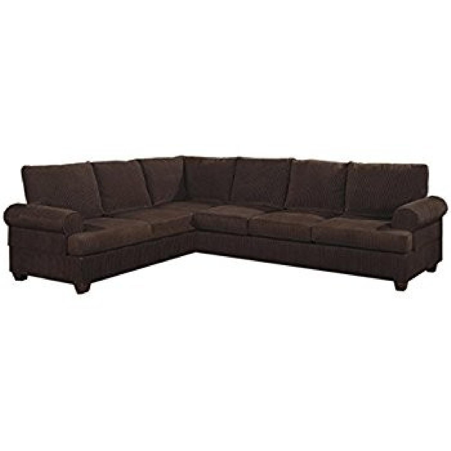 jennifer brown 2 piece sectional sofa
