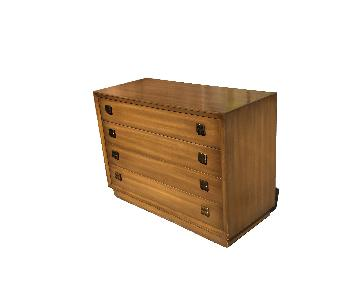 Hollywood Regency 4 Drawer Dresser