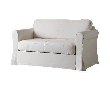 Ikea Hagalund 2-Seater Sleeper Sofa