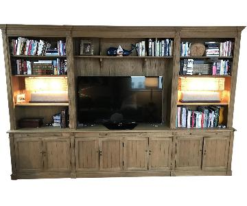Restoration Hardware Library Wall System