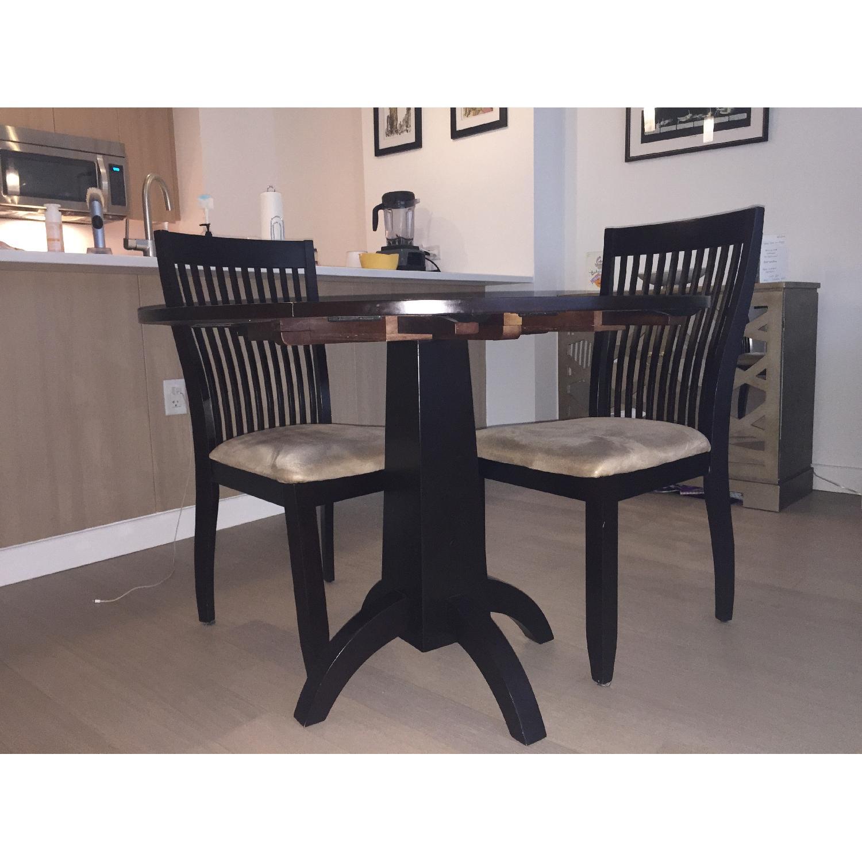 ... Ikea Round Espresso Dining Table 0 ...
