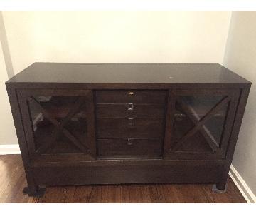 Crate & Barrel Sideboard/Cabinet