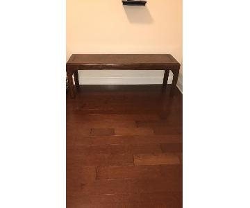 Long Wood Accent Table