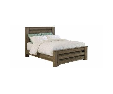 Raymour & Flanigan Buckley Queen Size Bed