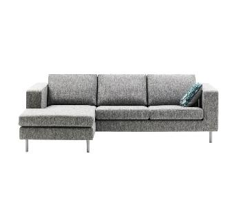 BoConcept Cenova 3 Seat Sectional Sofa