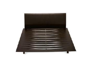 Design Within Reach Leggero Wenge Platform Bed