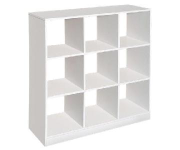 Ikea Kallax 9 Cube Bookshelf