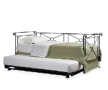 Charles P. Rogers Campaign Trundle Bed