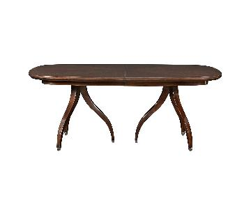 Bloomingdale's Savoy Oval Extension Dining Table