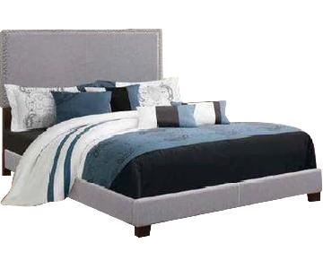 Coaster Upholstered Full Bed